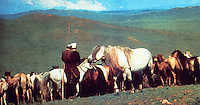 World Civilization:  Central Asia--Mongol Herdsmen.  Photo '91.