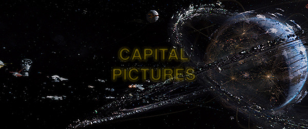 SCENE<br /> in Jupiter Ascending (2015) <br /> *Filmstill - Editorial Use Only*<br /> CAP/NFS<br /> Image supplied by Capital Pictures