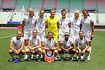U-20 Women's U.S.A National Team Group Line-Up (USA), .JUNE 17, 2012 - Football / Soccer : .International Friendly match between .Japan 1-0 U.S.A.at Nagai Stadium, Osaka, Japan. (Photo by Akihiro Sugimoto/AFLO SPORT) [1080]