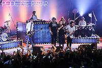 """SAO PAULO, SP, 01.02.2014 - SHOW MARCELO D2 - Gravação do primeiro DVD solo do cantor Marcelo D2 com nome de """"Nada Pode Me Parar ' no inicio da madruga deste sabado (01) no Audio Club regiao oeste da cidade de Sao Paulo. (Foto Vanessa Carvalho / Brazil Photo Press)."""