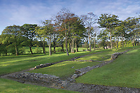 Bar Hill Roman Fort, Kilsyth, North Lanarkshire<br /> <br /> Copyright www.scottishhorizons.co.uk/Keith Fergus 2011 All Rights Reserved