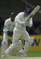 31/05/2002.Sport -Cricket - 2nd NPower Test -Second Day.England vs Sri Lanka.Mark Butcher. [Mandatory Credit Peter Spurrier:Intersport Images]