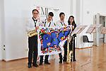 MITO per la citta, appuntamenti musicali itineranti per Settembre Musica. Il gruppo dei Crazy4sax nella sede del Sermig, Arsenale della Pace.