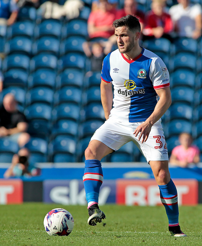 Blackburn Rovers' Craig Conway in action during todays match  <br /> <br /> Photographer David Shipman/CameraSport<br /> <br /> The EFL Sky Bet Championship - Blackburn Rovers v Rotherham United - Saturday 17 September 2016 - Ewood Park - Blackburn<br /> <br /> World Copyright &copy; 2016 CameraSport. All rights reserved. 43 Linden Ave. Countesthorpe. Leicester. England. LE8 5PG - Tel: +44 (0) 116 277 4147 - admin@camerasport.com - www.camerasport.com