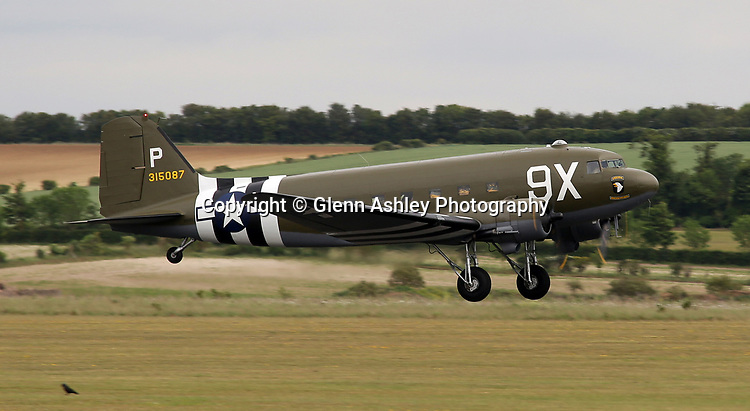 C-47, 315087/9X at the 75th Anniversary of the D-Day Landings, Duxford, United Kingdom, 5th June 2019. Photo by Glenn Ashley Photography