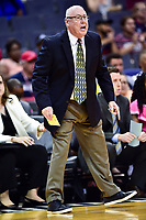 Washington, DC - June 15, 2018: Washington Mystics head coach Mike Thibault on the sideline during game between the Washington Mystics and Chicago Sky at the Capital One Arena in Washington, DC. (Photo by Phil Peters/Media Images International)