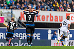 05.10.2019, Benteler Arena, Paderborn, GER, 1.FBL, SC Paderborn 07 vs 1. FSV Mainz 05<br /> <br /> DFL REGULATIONS PROHIBIT ANY USE OF PHOTOGRAPHS AS IMAGE SEQUENCES AND/OR QUASI-VIDEO.<br /> <br /> im Bild / picture shows<br /> Kai Pröger / Kai Proeger (Paderborn #09), <br /> <br /> Foto © nordphoto / Ewert