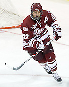 Michael Marcou (UMass - 22) - The Boston College Eagles defeated the University of Massachusetts-Amherst Minutemen 3-2 to take their Hockey East Quarterfinal matchup in two games on Saturday, March 10, 2012, at Kelley Rink in Conte Forum in Chestnut Hill, Massachusetts.