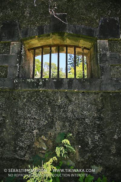 Ruines du bagne, Pénitencier de Prony, Sud de la Nouvelle-Calédonie