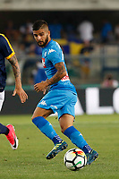 Lorenzo Insigne  during the  italian serie A soccer match,between Hellas Verona and SSC Napoli  at  the Bentegodi    stadium in Verona  Italy , August 19, 2017