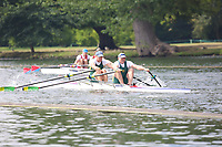 Race: 34  MasD.2x  Quarter-Final<br /> 66  North Staffordshire Rowing Club<br /> 69  Wallingford Rowing Club<br /> <br /> Henley Masters Regatta 2018 - Friday<br /> <br /> To purchase this photo, or to see pricing information for Prints and Downloads, click the blue 'Add to Cart' button at the top-right of the page.