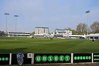 General view of the ground during Essex CCC vs Lancashire CCC, Specsavers County Championship Division 1 Cricket at The Cloudfm County Ground on 8th April 2017
