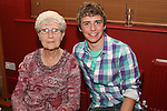 Graham O'Brien with his nana at his 18th in Harrys....Photo NEWSFILE/Jenny Matthews.(Photo credit should read Jenny Matthews/NEWSFILE)....This Picture has been sent you under the condtions enclosed by:.Newsfile Ltd..The Studio,.Millmount Abbey,.Drogheda,.Co Meath..Ireland..Tel: +353(0)41-9871240.Fax: +353(0)41-9871260.GSM: +353(0)86-2500958.email: pictures@newsfile.ie.www.newsfile.ie.FTP: 193.120.102.198.