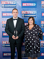 Picture by Allan McKenzie/SWpix.com - 25/09/2018 - Rugby League - Betfred Championship & League 1 Awards Dinner 2018 - The Principal Manchester- Manchester, England - Ben Moorehouse.