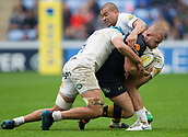 1st October 2017, Ricoh Arena, Coventry, England; Aviva Premiership rugby, Wasps versus Bath Rugby;  Tom Cruse (Wasps) working hard in the loose