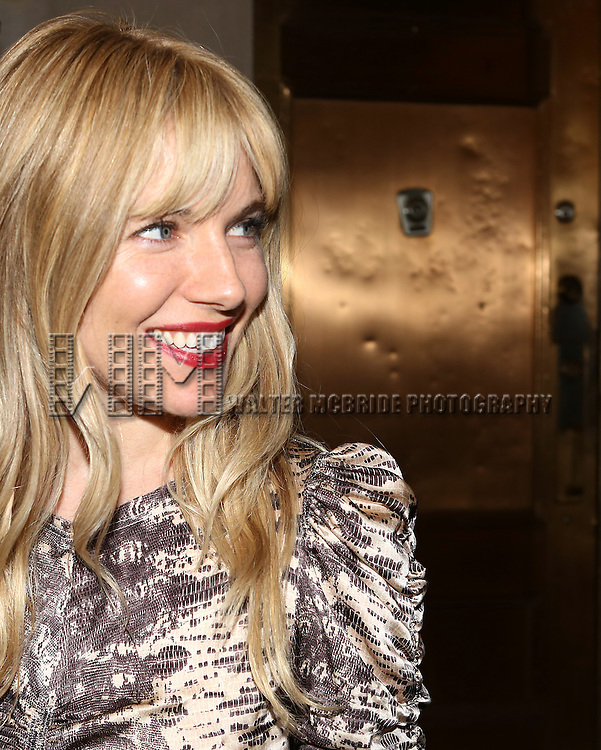 Sienna Miller attending the 69th Annual Theatre World Awards at the Music Box Theatre in New York City on June 03, 2013.