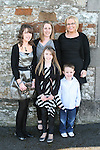 Kaleigh Reilly and family at her Confirmation in Clogherhead Church...Photo NEWSFILE/Jenny Matthews.(Photo credit should read Jenny Matthews/NEWSFILE)....This Picture has been sent you under the condtions enclosed by:.Newsfile Ltd..The Studio,.Millmount Abbey,.Drogheda,.Co Meath..Ireland..Tel: +353(0)41-9871240.Fax: +353(0)41-9871260.GSM: +353(0)86-2500958.email: pictures@newsfile.ie.www.newsfile.ie.FTP: 193.120.102.198.