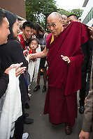 The Dalai Lama meets with the population in Brussels - Exclusive - Belgium