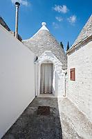 Italy, Puglia, Alberobello, Trulli, Trulli di Alberobello