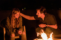 Eighth Grade (2018)   <br /> Josh Hamilton and Elsie Fisher<br /> *Filmstill - Editorial Use Only*<br /> CAP/MFS<br /> Image supplied by Capital Pictures