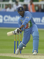 .24/06/2002.Sport - Cricket - .One day game 50 overs - Kent CC vs India.St Lawrence Ground - Canterbury.Sarandeep Singh