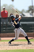 Cameron Garfield, Milwaukee Brewers 2010 minor league spring training..Photo by:  Bill Mitchell/Four Seam Images.