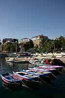 The roman harbour at Antalya, Turkey