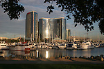 waterfront from Seaport Landing in San Diego