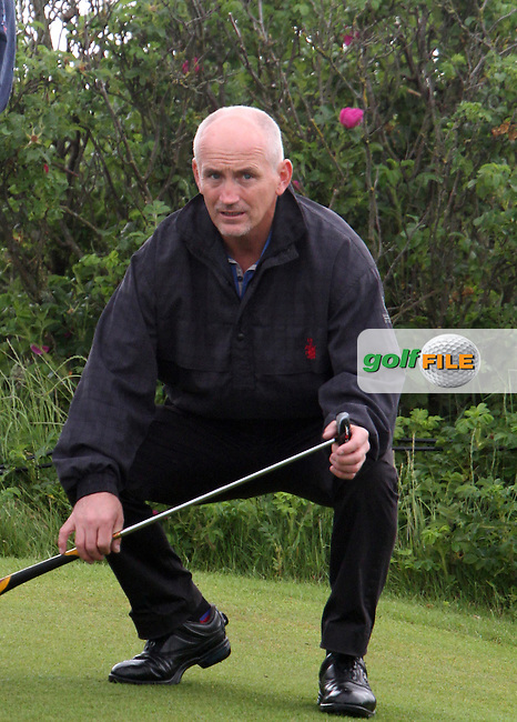 Barry McGuigan on the Pro Am Day at the 2012 Irish Open at Royal Portrush Golf Club...(Photo Jenny Matthews/www.golffile.ie)