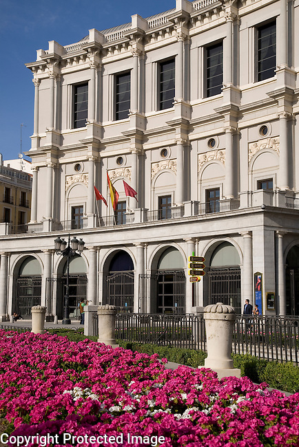 The Opera House, Plaza de Oriente Square, Madrid, Spain