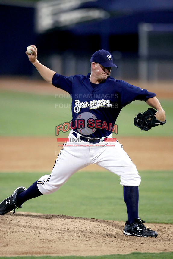 Gregory Holle - AZL Brewers - 2010 Arizona League.Photo by:  Bill Mitchell/Four Seam Images..