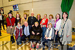 John Brassil and family at the count in Killarney were front from left Noel, John, Mary and Peggy Brassil<br /> Back l-r: Lizzie and Mary Ann Brassil, Joan Aherne, Fr John Aherne, Noreen Healy, Bernadette, Josephine, Paula and Bernadette Brassil.
