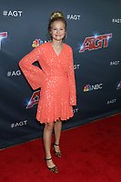"""LOS ANGELES - SEP 3:  Darci Lynne Farmer at the """"America's Got Talent"""" Season 14 Live Show Red Carpet at the Dolby Theater on September 3, 2019 in Los Angeles, CA"""