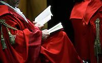 Un momento della cerimonia di inaugurazione dell'Anno Giudiziario presso la Corte d'Appello di Roma, 29 gennaio 2011..UPDATE IMAGES PRESS/Riccardo De Luca