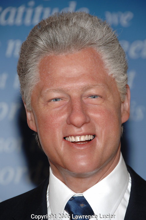 Bill Clinton's wax figure