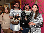 Edwina and Amy McGuinness, Ciaran and Derek Maguire at the Oscars fancy dress party in Watters of Collonin aid of the Gary Kelly Cancer Support Centre.  Photo:Colin Bell/pressphotos.ie