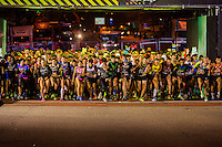 San Silvestre international race start signal