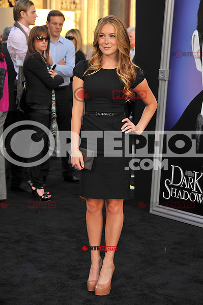 Alexa Vega at the premiere of Warner Bros. Pictures' 'Dark Shadows' at Grauman's Chinese Theatre on May 7, 2012 in Hollywood, California. ©mpi35/MediaPunch Inc.