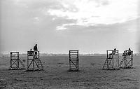 Berlino, aeroporto di Tempelhof riqualificato a parco pubblico --- Berlin, Tempelhof airport requalified to public park