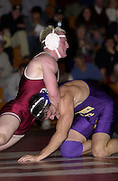 John Garfinkel wrestles against San Francisco State on November 14, 2000 at Burnham Pavilion.