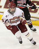 Danielle Doherty (BC - 19) - The Boston College Eagles defeated the visiting Northeastern University Huskies 2-1 on Sunday, January 30, 2011, at Conte Forum in Chestnut Hill, Massachusetts.