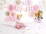 Kensley- Minnie Smash Cake