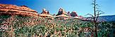 USA, Arizona, Schnebly Hill rock formations, Sedona