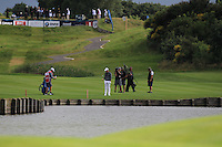 Rory McIlroy (NIR) on the 18th fairway during Round 2 of the 100th Open de France, played at Le Golf National, Guyancourt, Paris, France. 01/07/2016. <br /> Picture: Thos Caffrey | Golffile<br /> <br /> All photos usage must carry mandatory copyright credit   (&copy; Golffile | Thos Caffrey)
