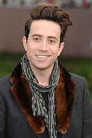 Nick Grimshaw arrives for the Burberry Prosum menswear AW14 as part of London Collections Men, Kensington Gardens, London.08/01/2014 Picture by: Steve Vas / Featureflash