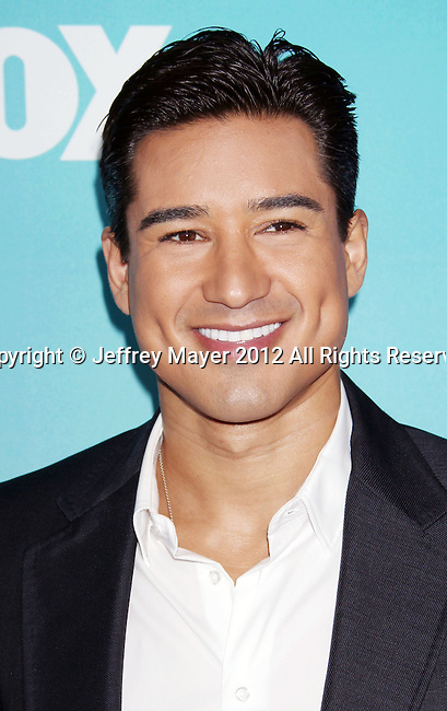 LOS ANGELES, CA - DECEMBER 17: Mario Lopez attends  'The X Factor' season finale press conference at CBS Studios on December 17, 2012 in Los Angeles, California.
