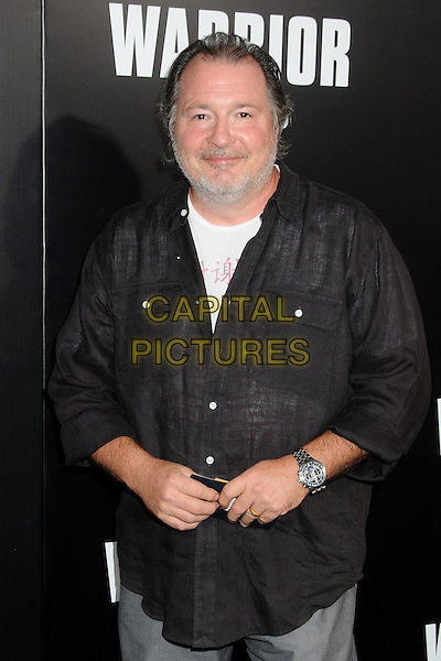 "Kevin Dunn.""Warrior"" World Premiere held at Arclight Cinemas, Hollywood, California, USA..September 6th, 2011.half length shirt black beard white facial hair .CAP/ADM/BP.©Byron Purvis/AdMedia/Capital Pictures."