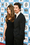 "WESTWOOD, CA. - June 23: Actor Christian Bale and wife Sibi Blazic arrive at the 2009 Los Angeles Film Festival's premiere of ""Public Enemies"" at the Mann Village Theatre on June 23, 2009 in Westwood, Los Angeles, California."
