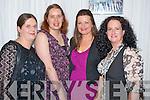 Enjoying the comedy festival in the INEC, Killarney on Friday night were Sarah O'Brien, Claire O'Brien, Annemarie O'Sullivan and Una Flynn.