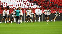 Sprinttraining - 12.10.2018: Abschlusstraining der Deutschen Nationalmannschaft vor dem UEFA Nations League Spiel gegen die Niederlande